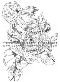 WorldOfWarcraft:Shaman_pencil