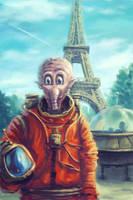 Space Tourist by Ilyich