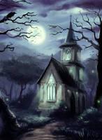 Forest Chapel by Ilyich