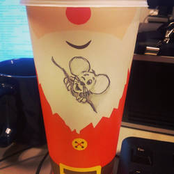 Mouse on a cup by beesqp