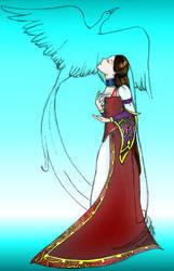 Rowena Ravenclaw by PaoloZephyrus