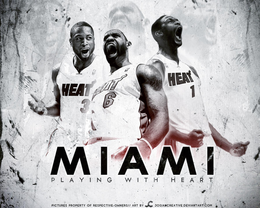 Miami heat wallpaper by josiancreative on deviantart miami heat wallpaper by josiancreative voltagebd Image collections