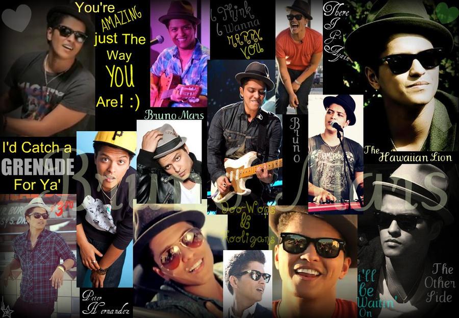 Bruno Mars Collage2 By Smokey2524 On DeviantArt