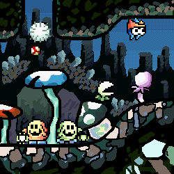Yoshi's Island: Spelunking