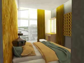 Bedroom by reformalietuva