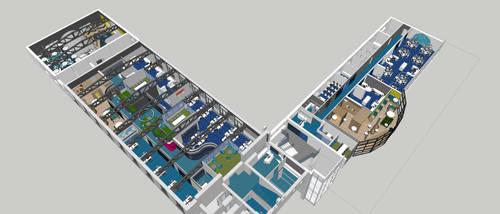 1600m2 office by reformalietuva