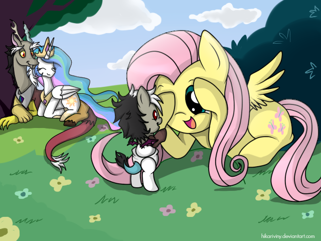 Where is Fluttershy? by hikariviny