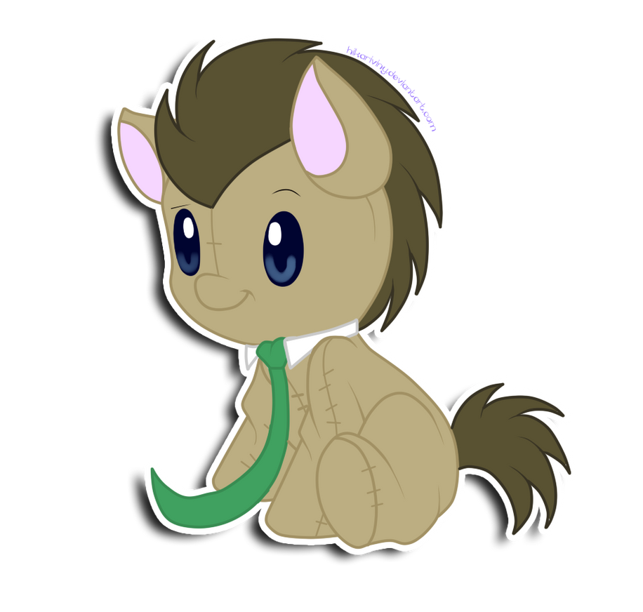 Doctor Whooves plushie by hikariviny