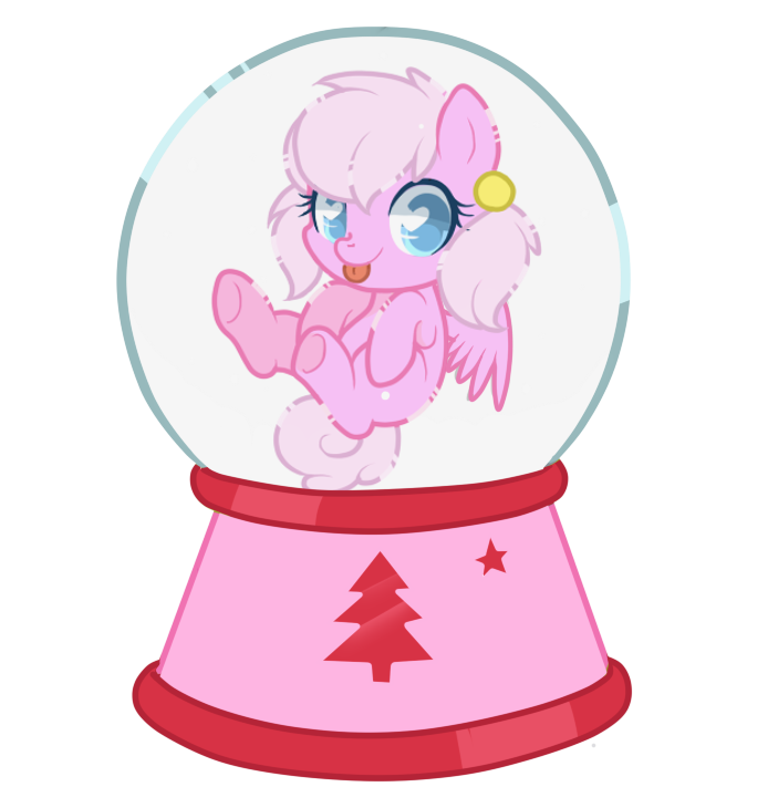 Almond Bloom Snowglobe by hikariviny