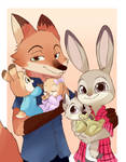 Judy and Nick Family