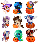 Halloween YCH commissions