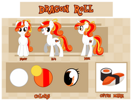 Dragon Roll Reference by hikariviny