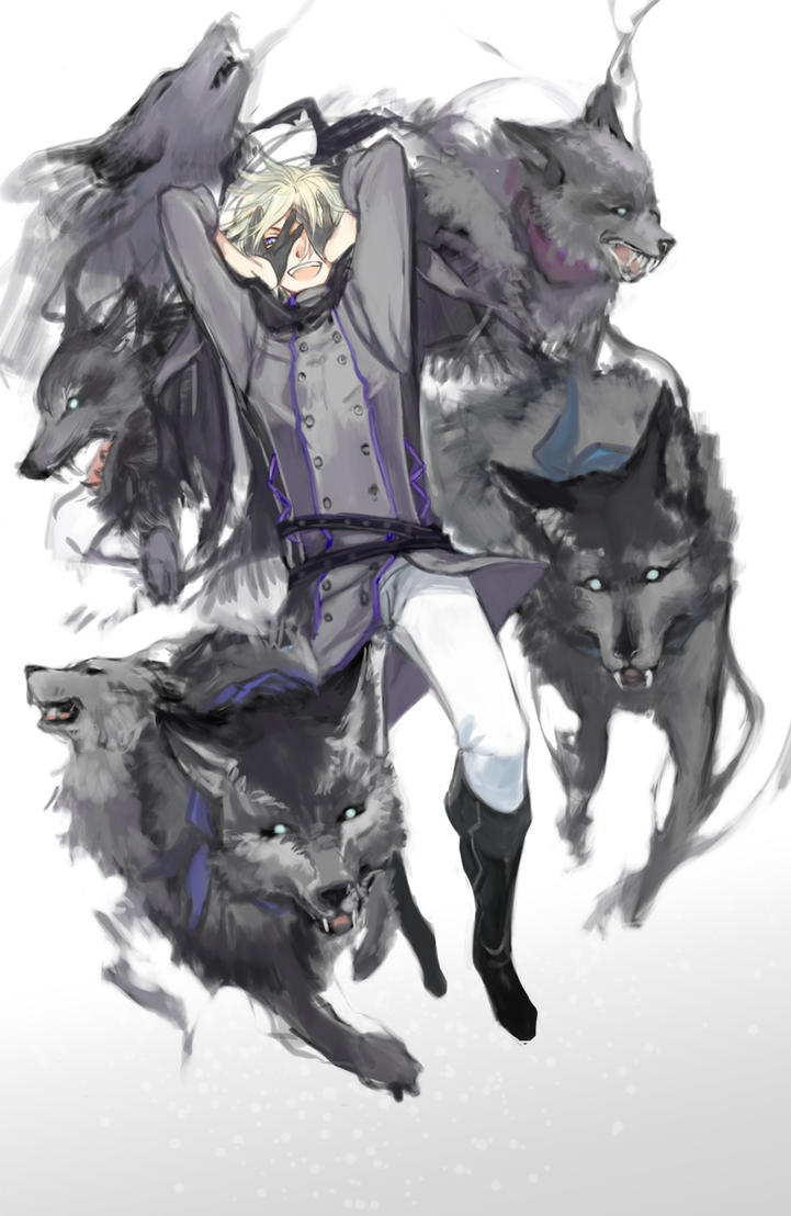Wolf Wizard by nisotatsu