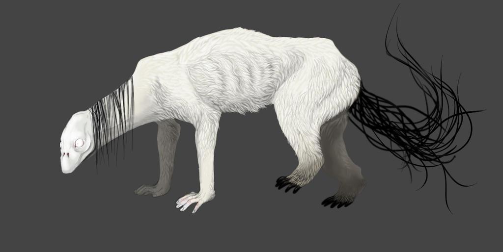 Snow Beast by Treebuzza