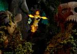 Lara in Tomb