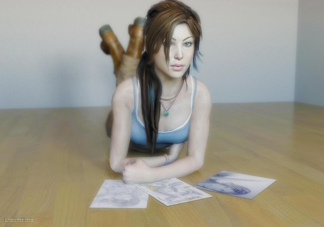 Lara by luciferFlash