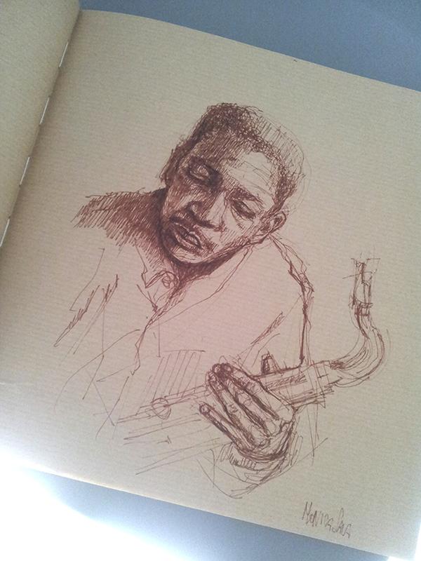 Sketchbook by monyesse