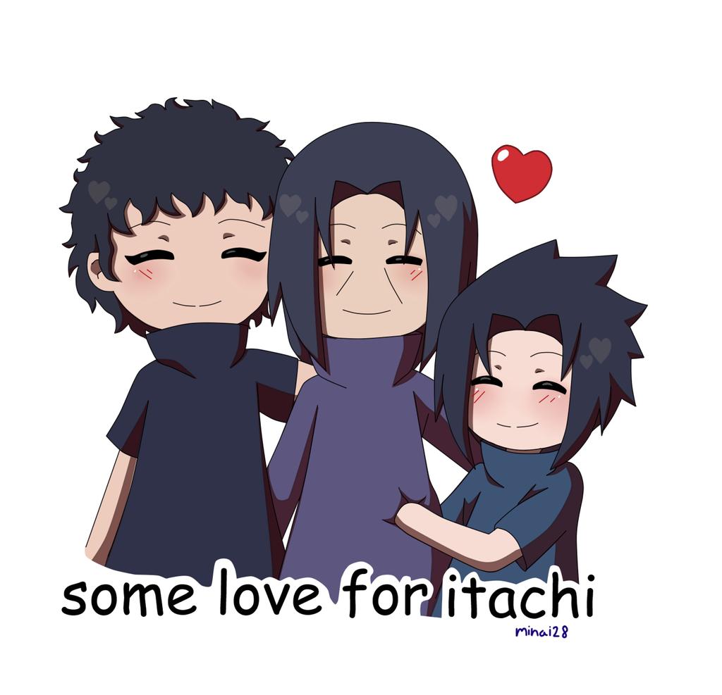 chibi itachi , shisui and sasuke by minai28 on DeviantArt