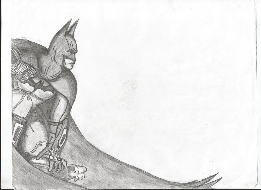 Batman: Arkham City (pencil) by IamAndrewAdams on DeviantArt