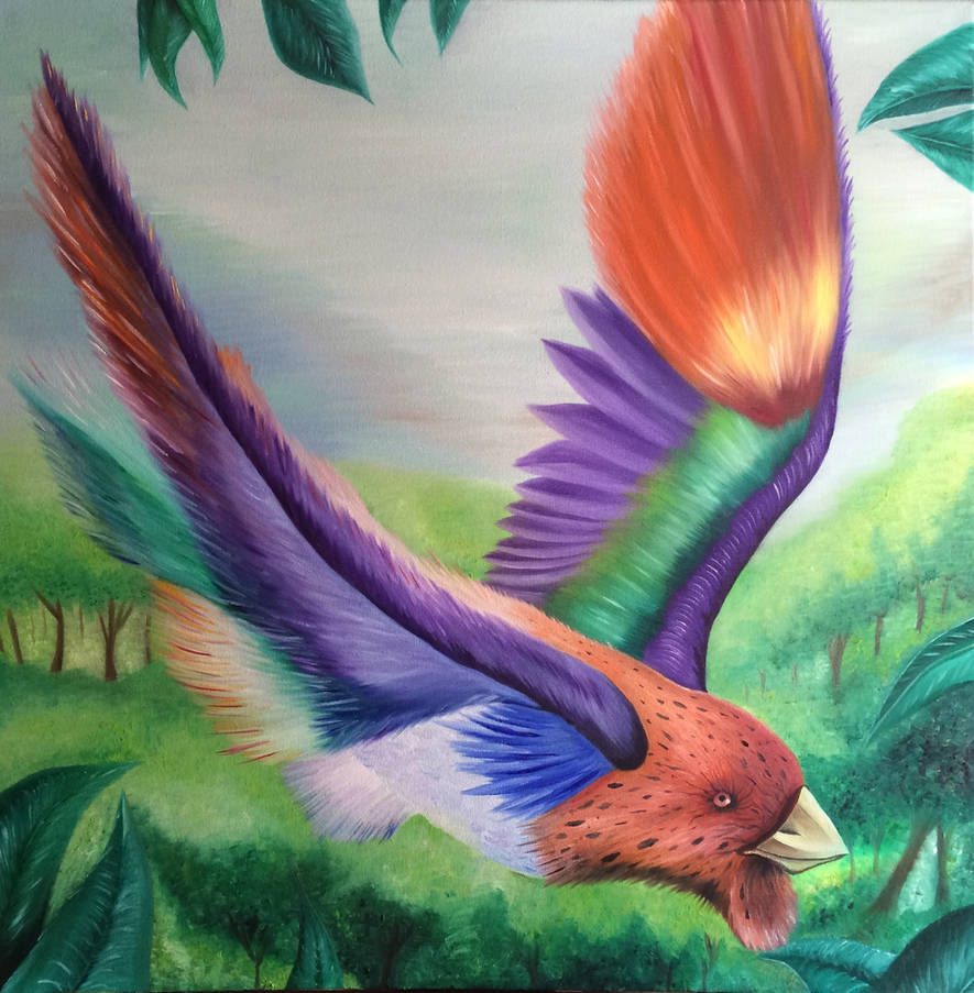 Birds Of Paradise Art By Chris Brown By Artbychrisbrown On Deviantart