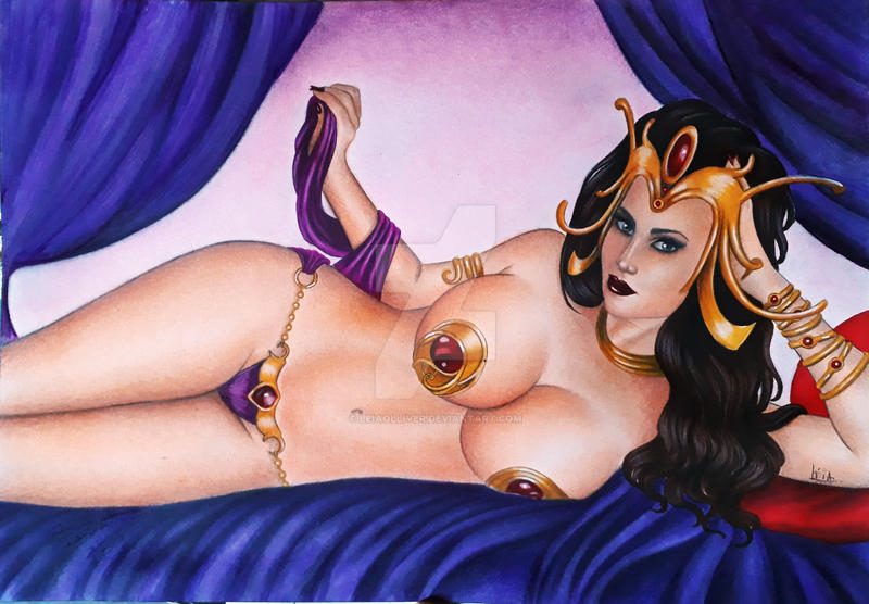 Dejah Thoris by leiaolliver