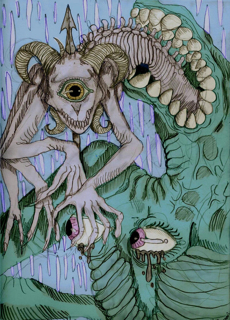 hounds of hell by velmenni