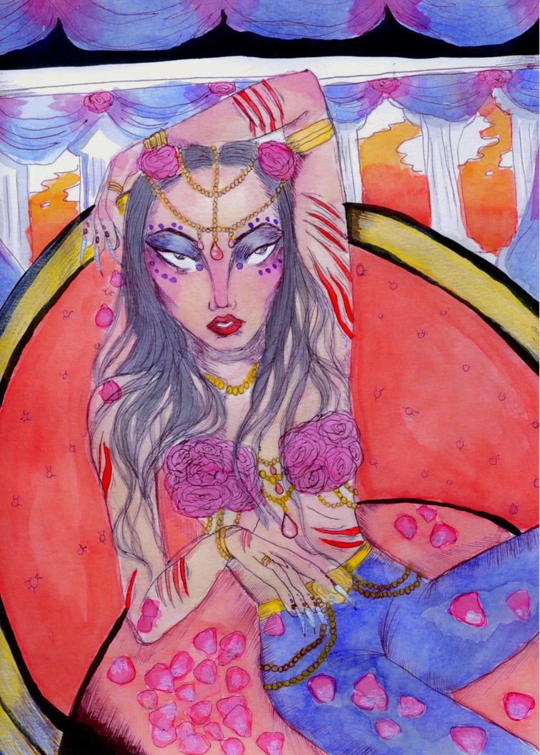 Gold Roses by velmenni