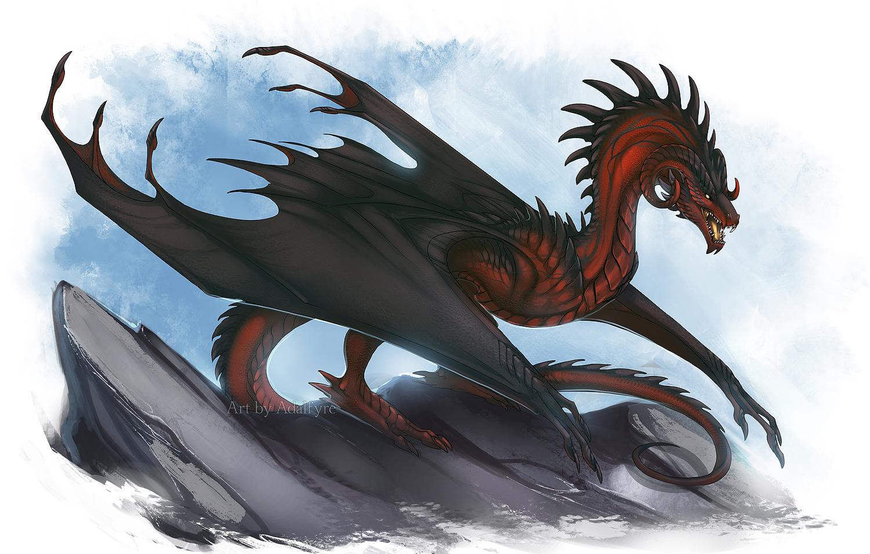 Wyvern Dragon: [Creature] -=Shadow-Winged Wyvern=