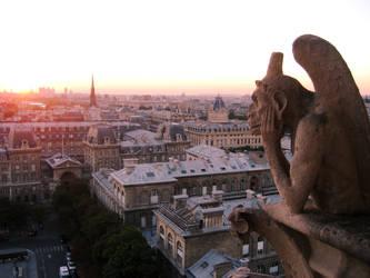 Notre Dame - Le Penseur by alucard82