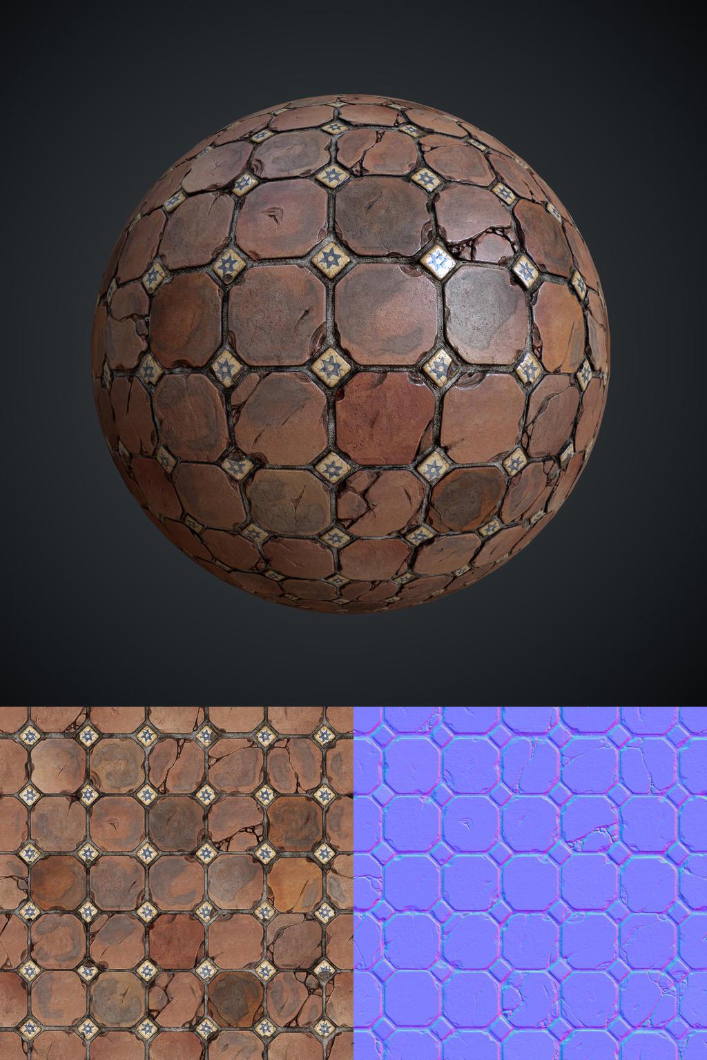 Terracotta Tiles by Leonid-k
