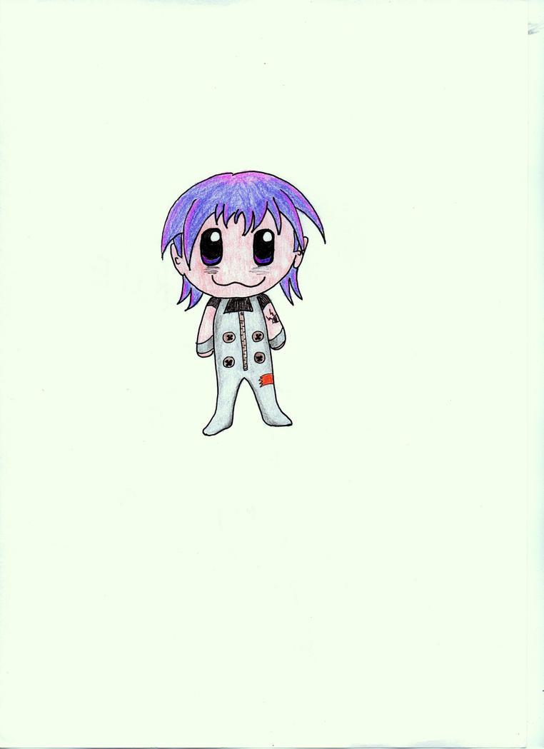 Chibi Spike OC by bupple