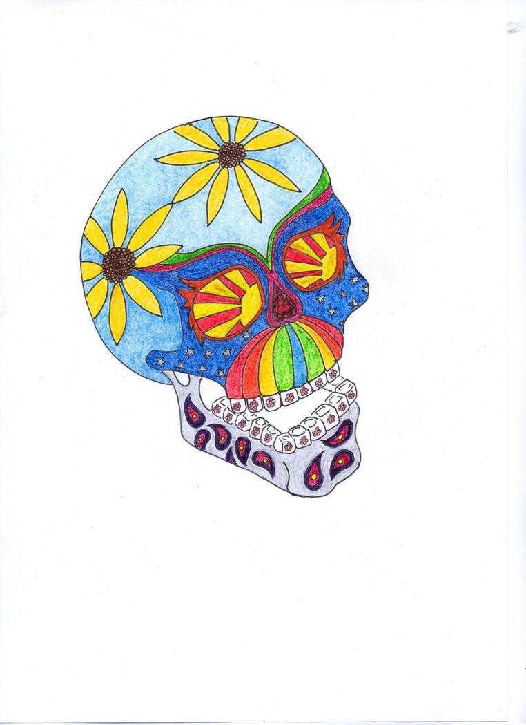 Sugar Skull by bupple