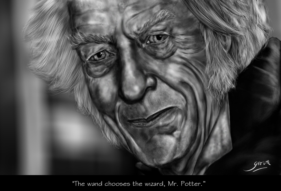 Ollivander (Harry Potter) [Speedpainting]