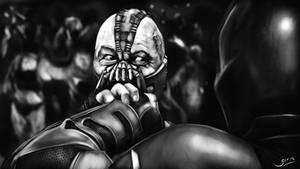 Bane vs Batman II (TDKR)