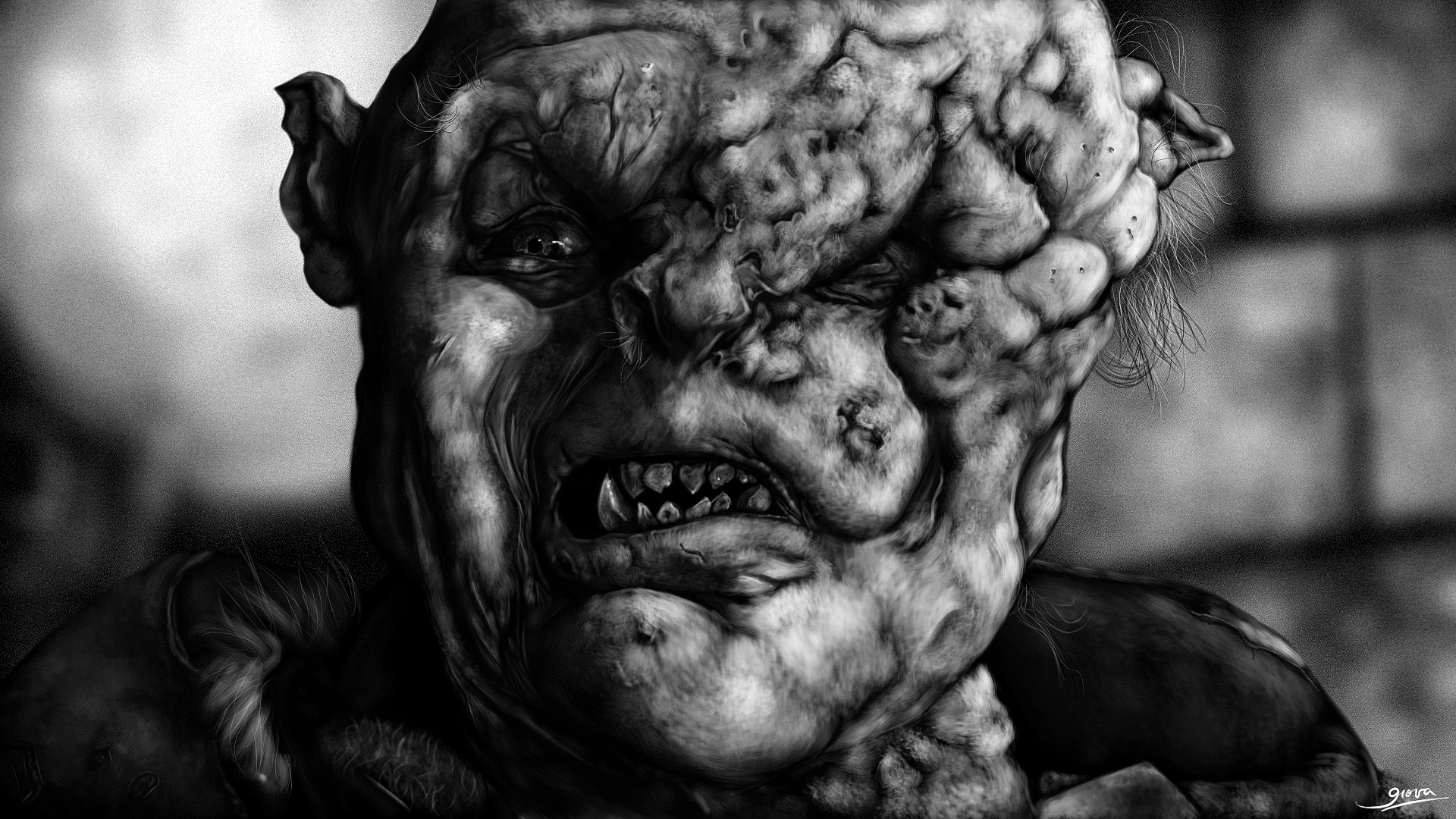 Orco Gothmog (ESDLA) [Dibujo digital + Speedpainting] - Arte - Taringa!