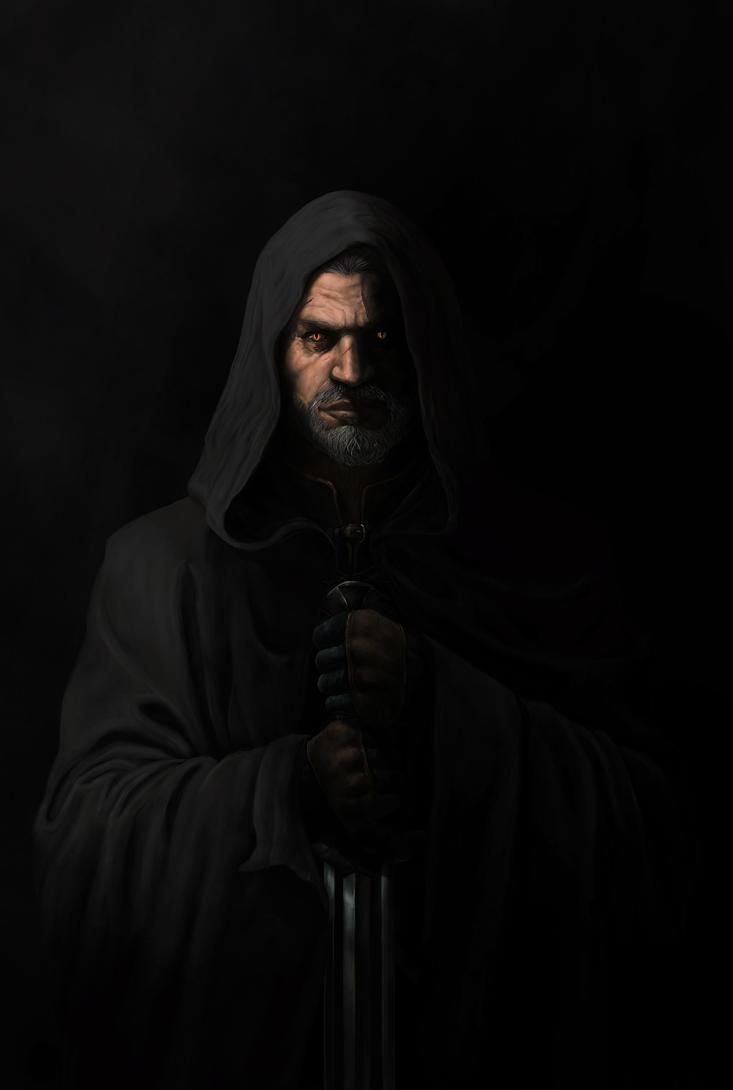 Geralt of Rivia by GiovaBellofatto
