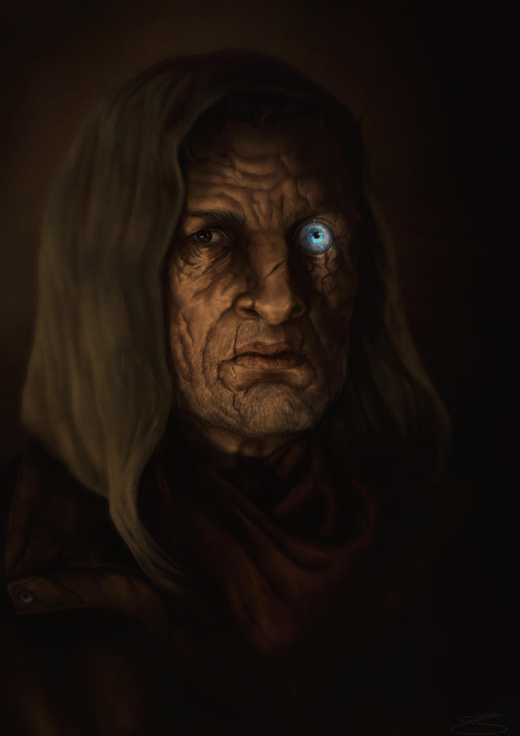 Alastor Mad-Eye Moody by GiovaBellofatto on DeviantArt