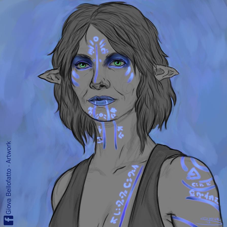 [Sketch] Elf Design VII by GiovaBellofatto