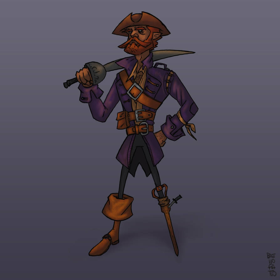 A Pirate's life [Character Design]
