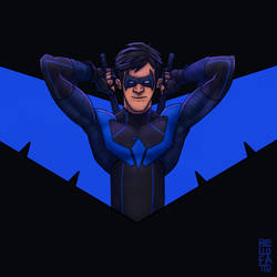 Dick Grayson | Nightwing by GiovaBellofatto