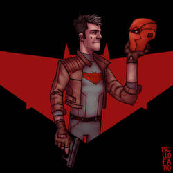 Jason Todd | Red Hood by GiovaBellofatto