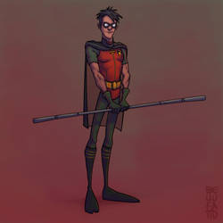 Tim Drake | Robin by GiovaBellofatto