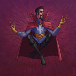 Doctor Strange by GiovaBellofatto