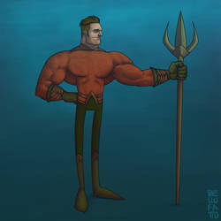 Aquaman by GiovaBellofatto