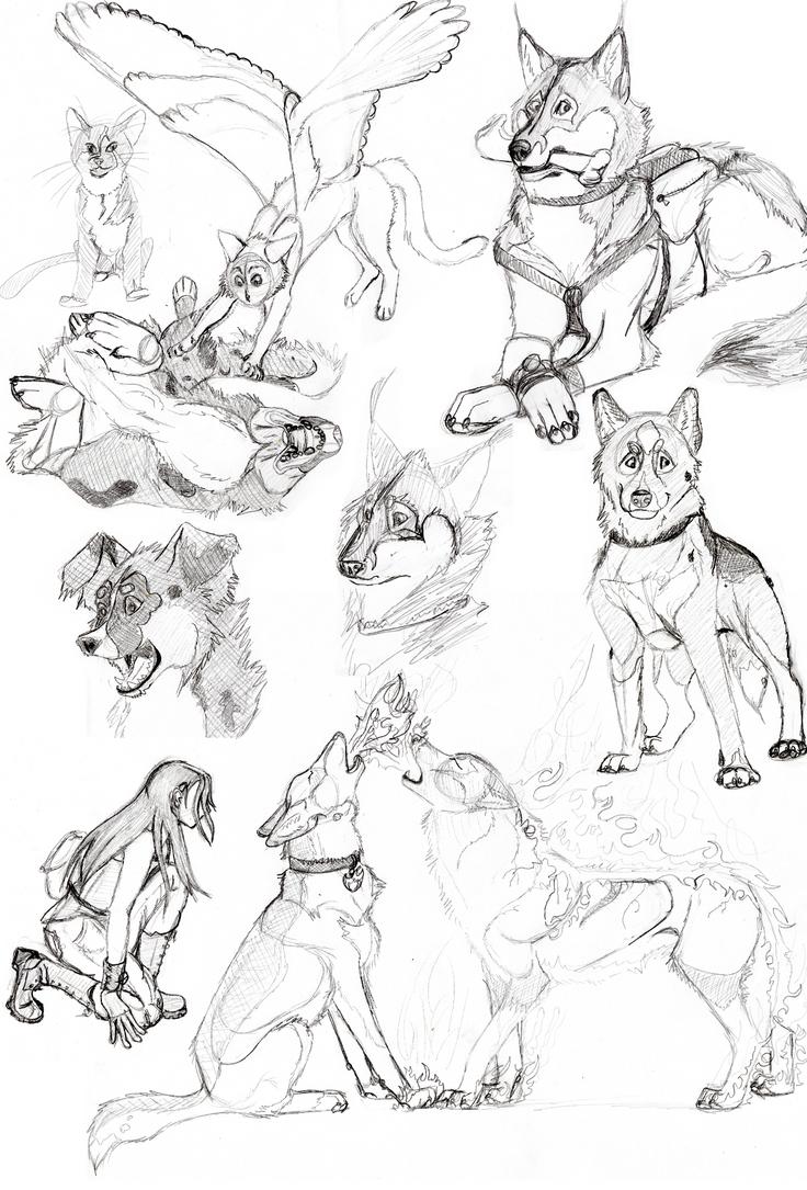 Sketch Dump by Rikkanna