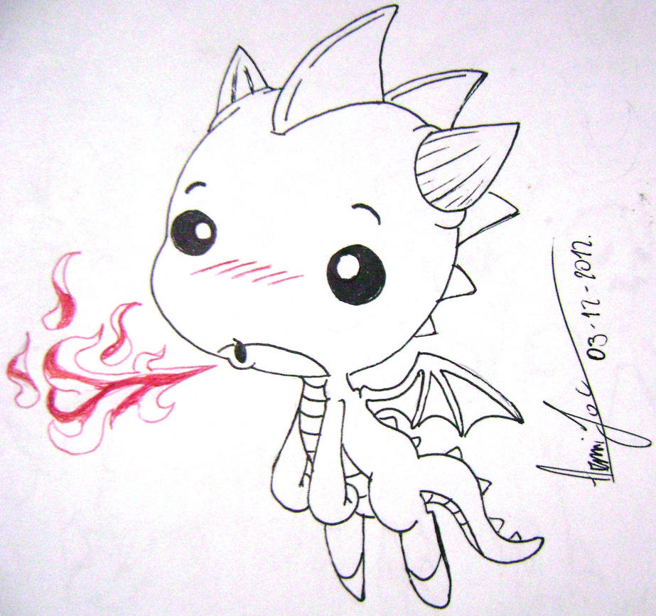 Uncategorized Drawings Of Baby Dragons baby dragon by inugamisama on deviantart inugamisama