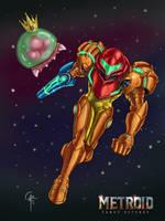 Metroid: Samus Returns by Alkor-3rd