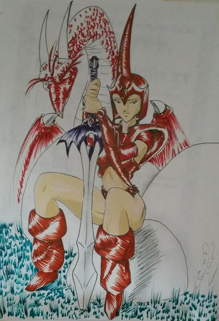 Red Armor 1996 by GaraKan