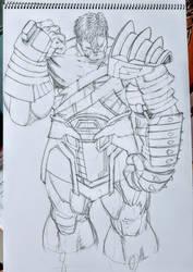 Gladiator Hulk by GaraKan