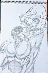 Hulk pull by GaraKan